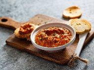 Класическа рецепта за кьополу с патладжан, домати и чушки